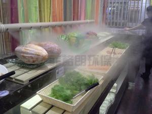 杭州農貿批發市場蔬果高壓微霧加濕設備價格