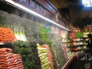 廣西農貿批發市場蔬果高壓微霧加濕設備價格
