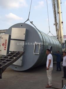 貨到付清廣西梧州市一體化污水提升預制泵站