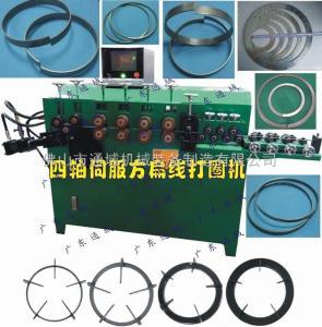 通域伺服爐架打圈機、扁鐵卷圈機 價格19500元臺