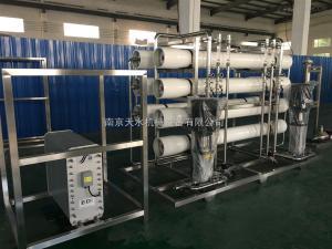 6噸二級反滲透主機+EDI設備