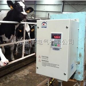 奧圣智能控制器在牛糞自動清理系統上的應用案例