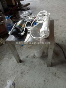 GL-1小型白酒过滤器白酒过滤机实验用过滤机-不锈钢材质