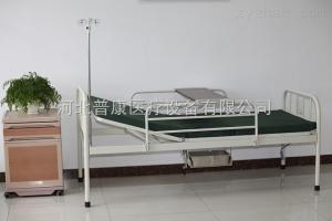 河北普康家用手動單搖帶廁護理床,老年人護理床