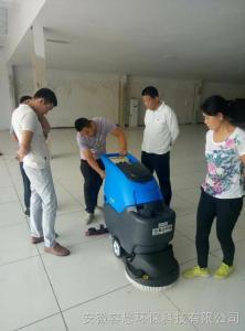 三明洗地机_三明手推式洗地机学校清洁专用洗地机【容恩环保科技】