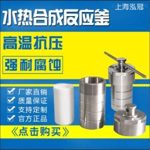 KH-100ML厂家供应上海不锈钢水热合成反应釜