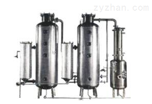 WZII-系列双效节能浓缩器(能回收酒精)厂家
