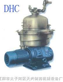 DHC液固二相分離自動排渣澄清型碟式離心機