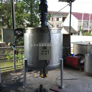100L-3T浙江不锈钢加热搅拌罐 单层液体搅拌罐 药品均质分散乳化罐 500升
