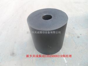 180*180*40橡膠減震墊 黑色圓柱形橡膠墊橡膠