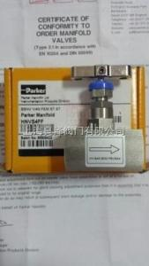 HGVS8PBV針型閥美國PARKER派克儀表HGVS8PBV針型閥