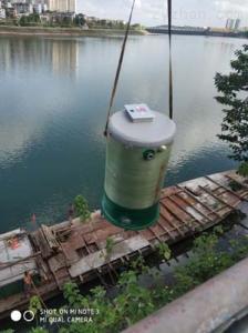 直徑上海玻璃鋼消毒池,太陽能自控截污裝置