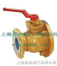 RTBFQ-II襯氟放料球閥