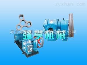 LCB泵可以輸送牙膏-河北強亨不銹鋼牙膏不銹鋼羅茨轉子泵