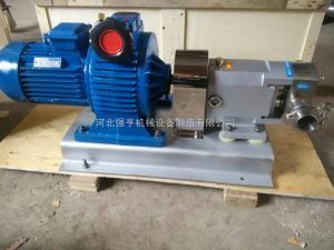 河北強亨泵業生產的3RP不銹鋼凸輪轉子泵又稱萬用輸送泵效率高壽命長