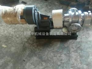 LCX不銹鋼皂液羅茨泵低轉速高效率是河北強亨泵業生產的優質泵
