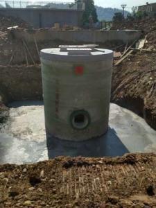 直徑小崗一體化預制泵站,雨污分流器