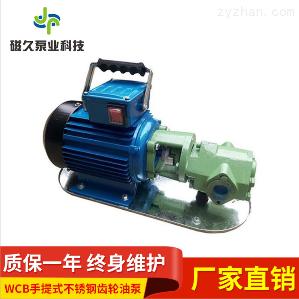 油泵廠家WCB手提式不銹鋼齒輪油泵
