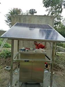 直徑平湖太陽能自控截污裝置