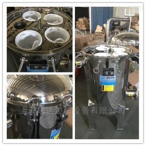 精密袋式過濾機廠家鏡面拋光多袋式過濾器