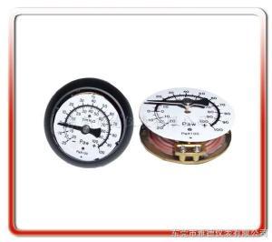 YEY雅德儀表有限公司專業生產各式工業壓力表YEY醫用微壓膜盒表、微壓表、水柱表