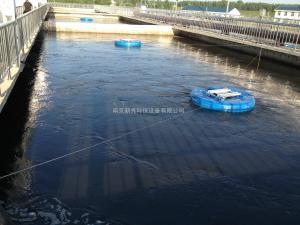 QFB漂浮式浮筒曝气机性能