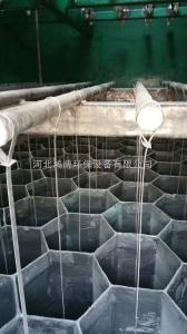 陽極管模塊吊裝玻璃鋼陽極管拼接鴻博環保技術設計