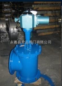 J944X電動角式排泥閥 溫州專業排泥閥 質量優 售后保障