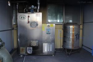 80KG旭恩自然循環80KG生物質顆粒蒸汽鍋爐去