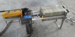 試驗用不銹鋼隔膜壓濾機