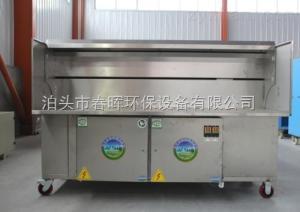 1生產廠春暉燒烤油煙凈化車一體化工藝流程