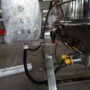 100L蒸汽加热猪头肉煮锅 可倾出料夹层锅