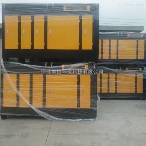 10000風量工業塑料加工廠專業UV光氧廢氣處理設備