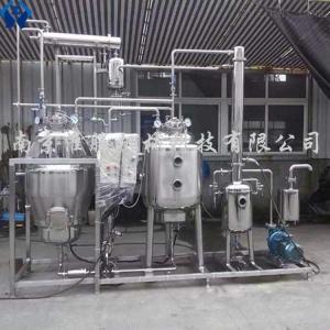 RIN多功能熱回流提取單效濃縮機組