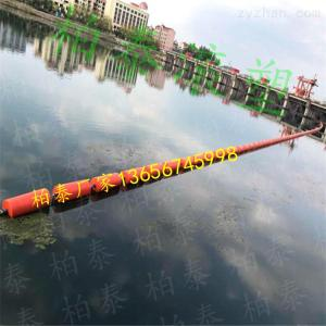 滄州掛網攔污浮筒 柏泰滾塑浮排