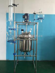 S212不銹鋼-50L上海東璽不銹鋼反應釜