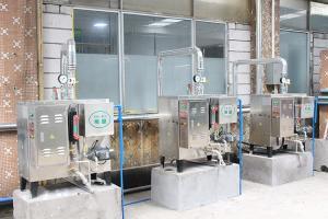 950*680*1250旭恩不銹鋼48KW電蒸汽發生器純度嗎?