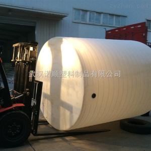 圆形20吨氯化铵pe塑料水箱一个