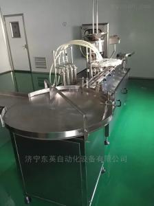 DY-10G常年生產液體灌裝機,西林瓶分裝機