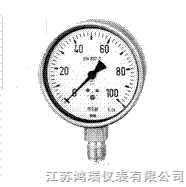 HR钛合金压力表