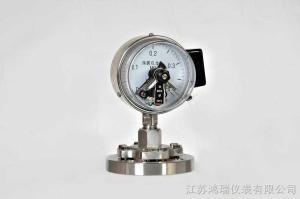 HR磁助电接点压力表