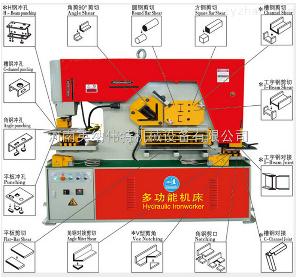 Q35Y-12联合冲剪机 多功能剪切机 冲剪一体机