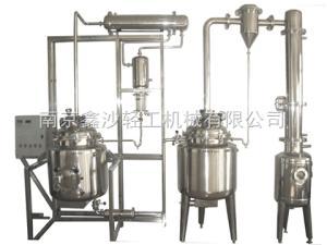南京全自動小型多功能提取濃縮醇沉回收機組