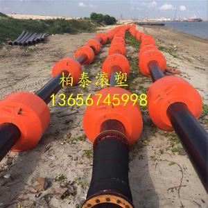 滨州海上塑胶管道浮子 疏浚浮体直销
