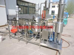 HSCT-G不銹鋼罐式超聲波復方藥提取濃縮成套設備