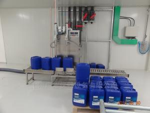 18L自动灌装机20升化工液体灌装生产线 18升方桶灌装机