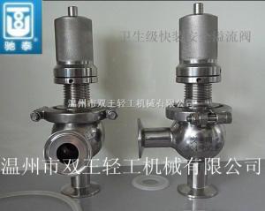 A21W-6P不銹鋼衛生級安全閥