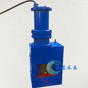 WFS-300无鼓粉碎型格栅除污机
