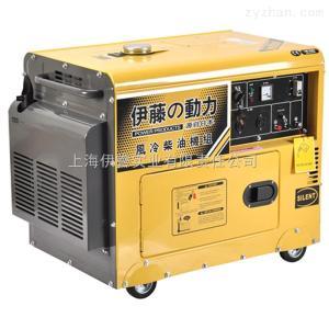 5千瓦靜音單相全自動柴油發電機參數及圖片