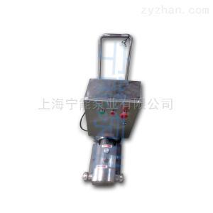 移動式化工泵上海寧能移動型不銹鋼轉子泵